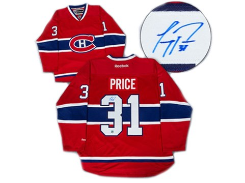 Autographed jersey's for auction